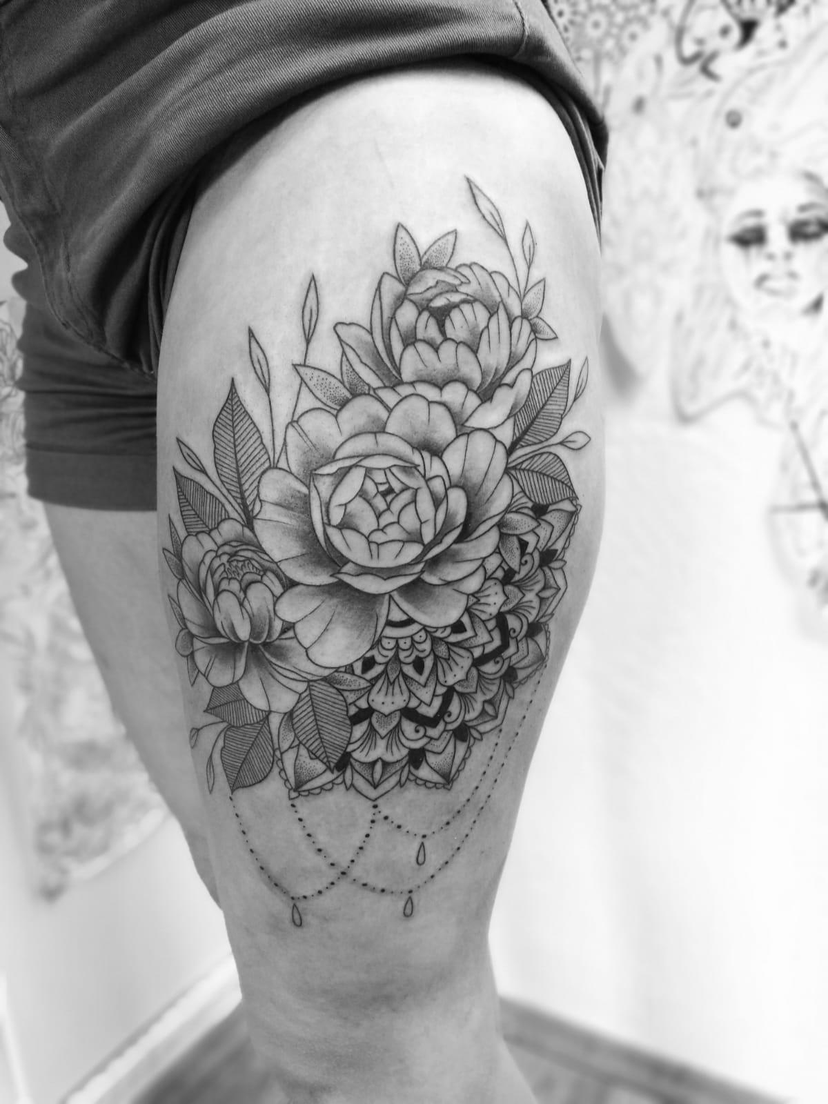 Blackwork Tattoo Marktheidenfeld