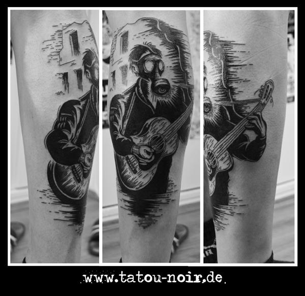 Eric Drooker Tattoo