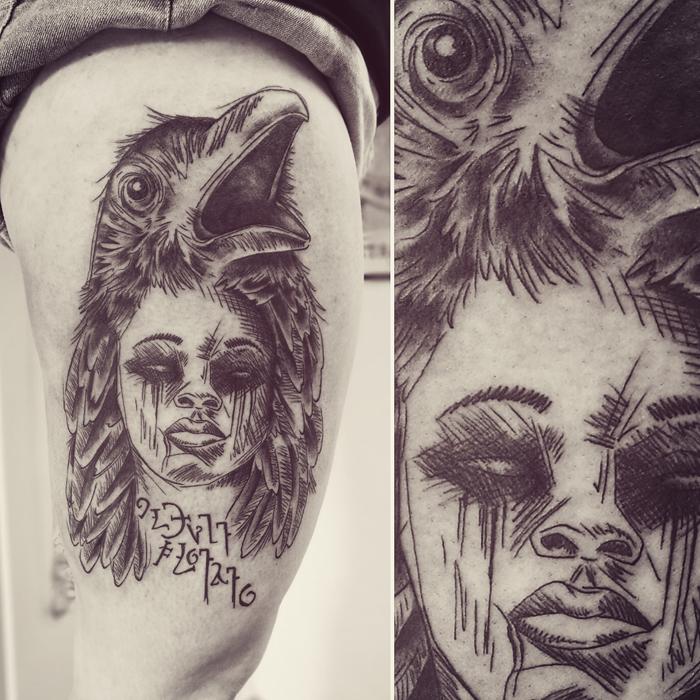 rabeBlackwork Tattoo Marktheidenfeld